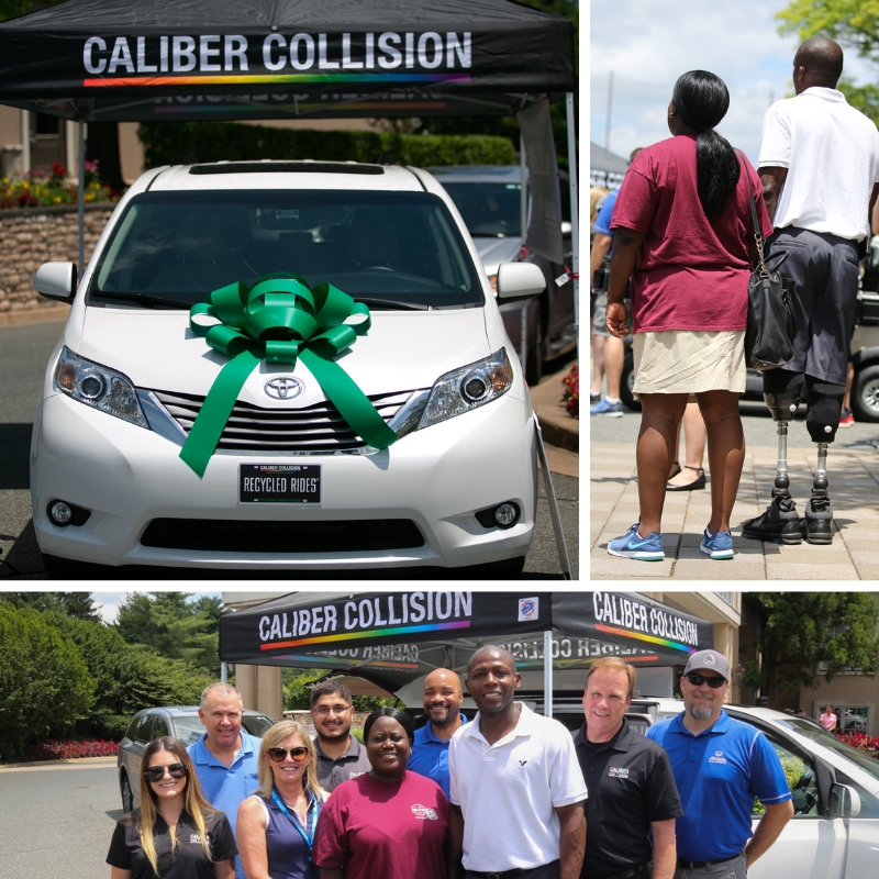 Luke's Wings, Allstate Insurance and Caliber Collision team