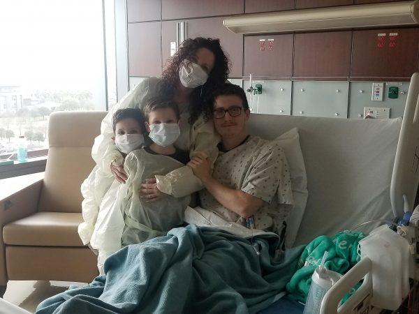 Taylor Hannah and family
